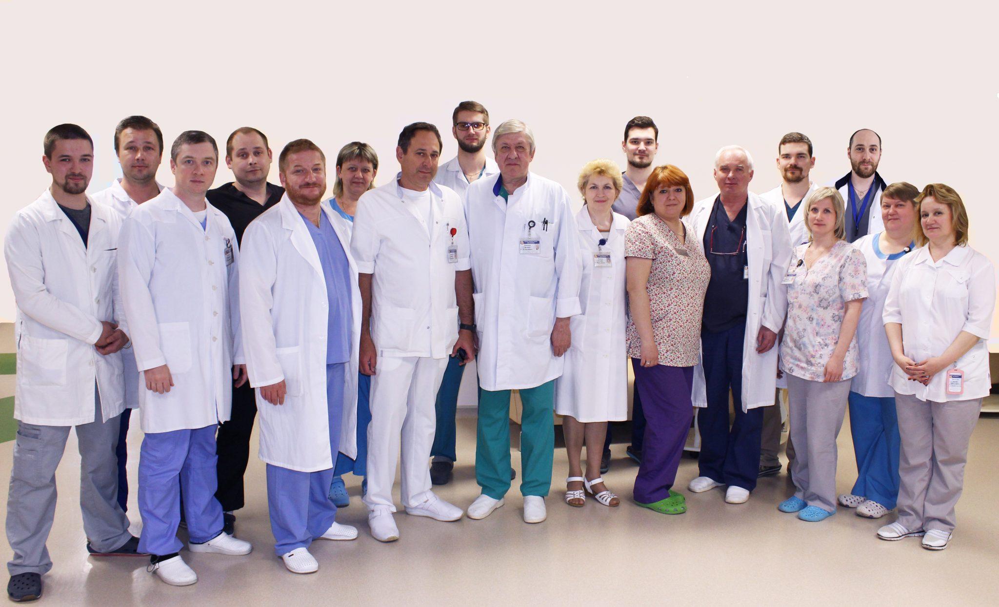 Хирурги гинекологи в 70 больнице