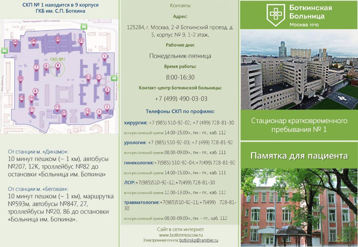 Схема боткинская больница москва фото 966