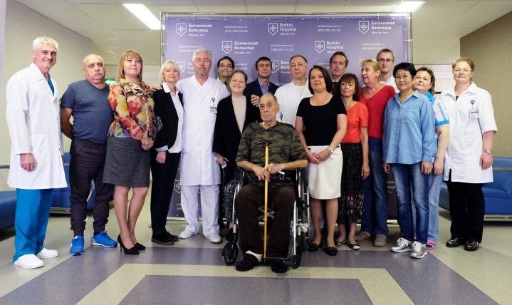 Пациенты Боткинской больницы