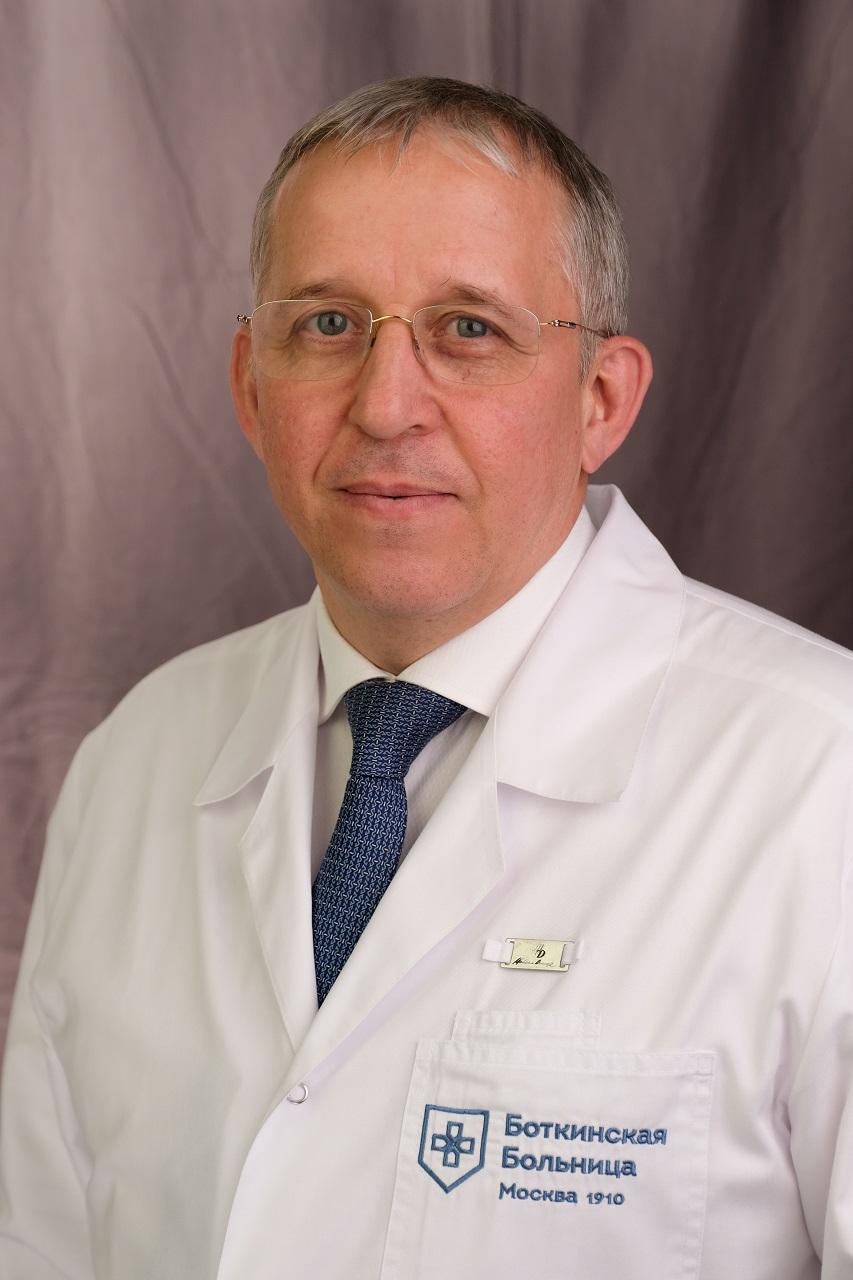 В.В.Бедин, заместитель главного врача по хирургии Боткинской больницы