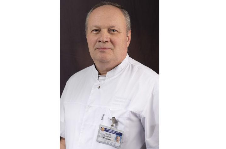 Заместитель главного врача Боткинской больницы по амбулаторно-поликлинической помощи А.Ю.Лукин
