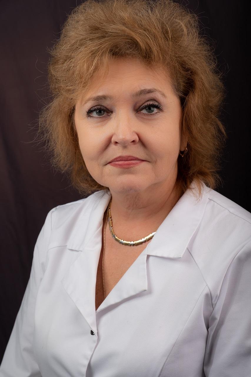 Е.Ю.Семейкина, заведующая Филиалом №2 Боткинской больницы (Родильный дом и 6 Женских консультаций)