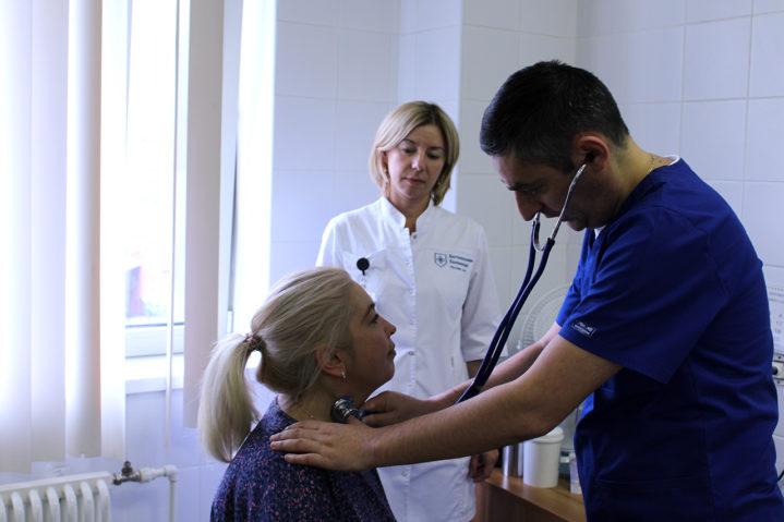 День профилактики инсульта в Боткинской больнице. 29 октября 2019 года