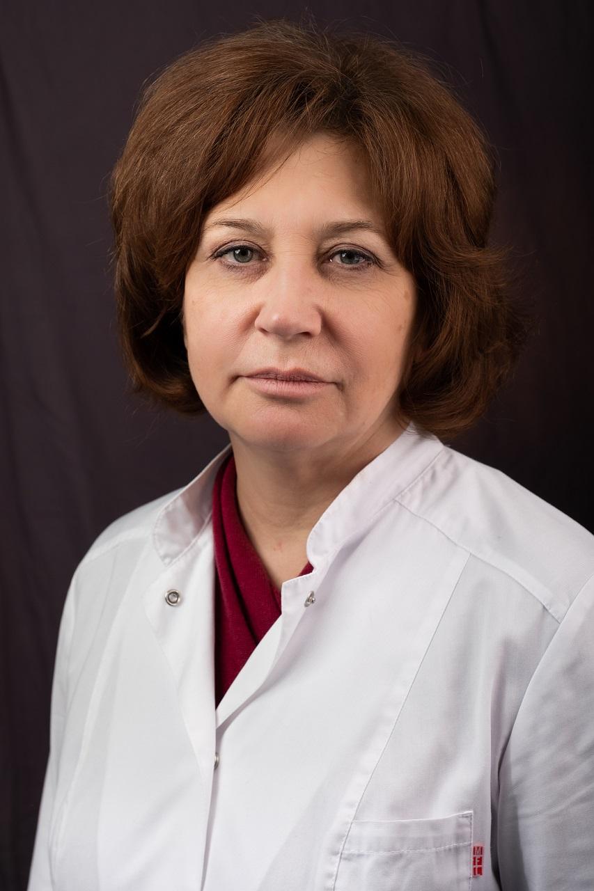 Н.В.Лощиц, заведующая терапевтическим отделением №2 Боткинской больницы.