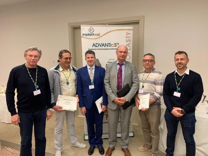 Российская делегация травматологов-ортопедов, в том числе два специалиста Боткинской больницы (Москва), на Международной ежегодной конференции по эндопротезированию в испанской Пальма де Мальорка 8-9 ноября 2019 года.