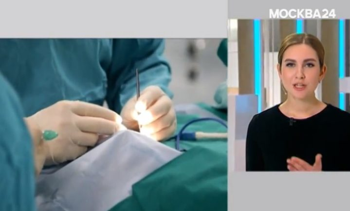 Хирурги-офтальмологи Боткинской больницы оперируют глаукому.