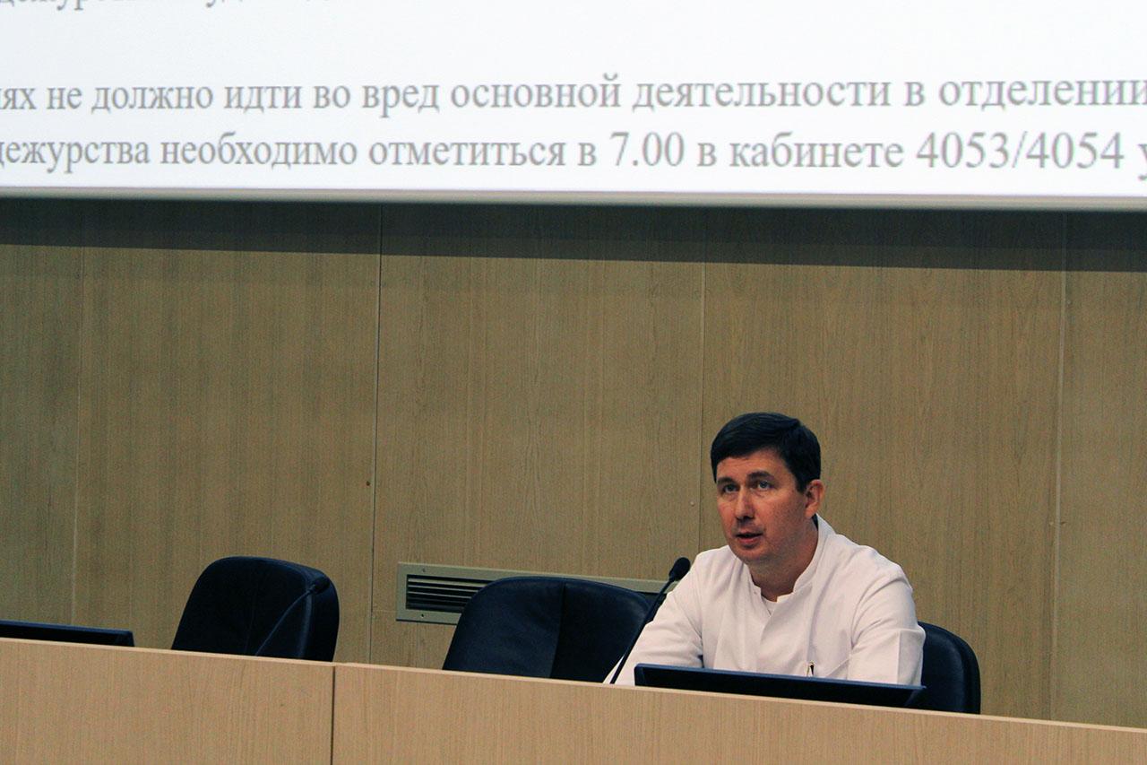 М.М,Тавобилов, врач-хирург 50 отделения Боткинской больницы