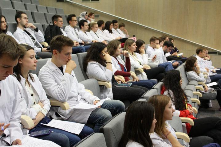 Третье заседание Студенческого научного общества «Будущий московский хирург» состоялось 31 октября 2019 года в Боткинской больнице.