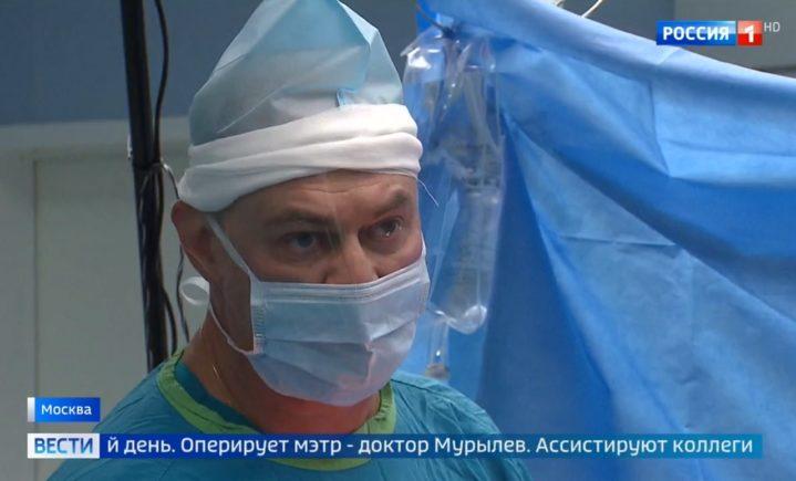 Эндопротезирование тазобедренного сустава. Оперирует проф. В.Ю.Мурылев.
