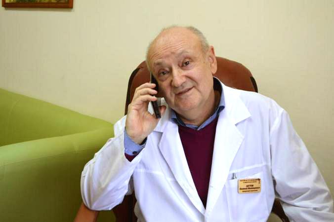Врач-нефролог Е.В.Шутов, Боткинская больница.