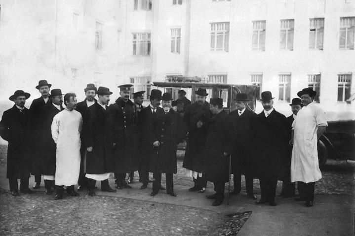 1910 год. Открытие Солдатенковской больницы. Москва.