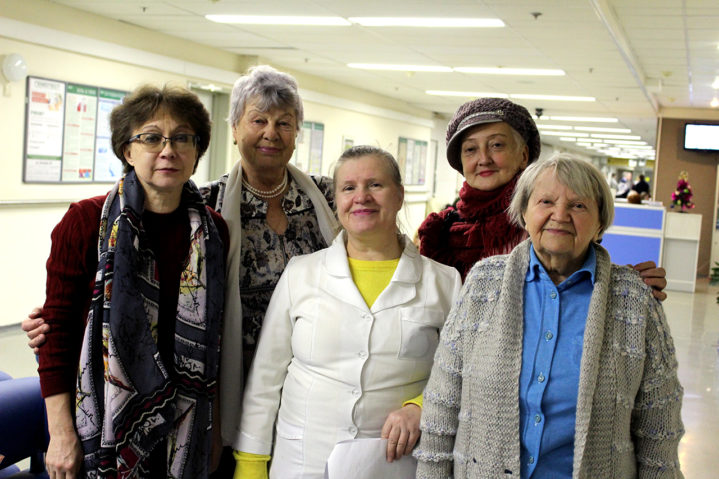 3 декабря в День инвалидов в Боткинской больнице прошли расширенный осмотр 25 инвалидов - жителей района Беговой.