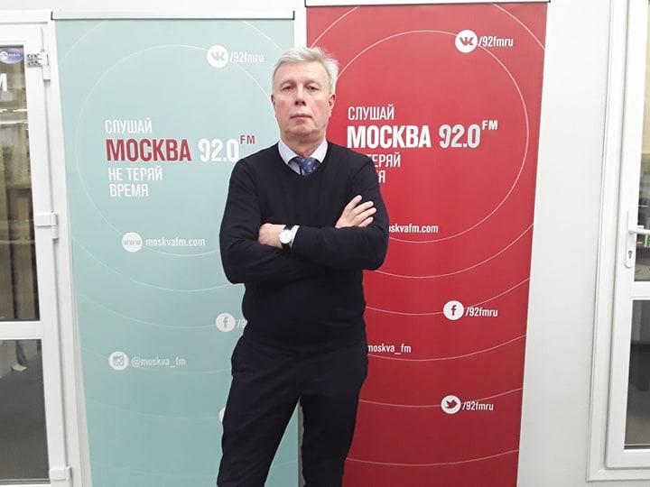 """В.В.Птушкин в эфире радио """"Москва FM"""""""