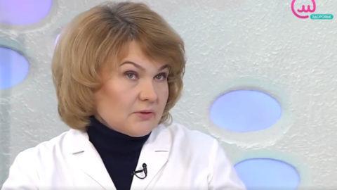 Заведующая отделением пульмонологии Боткинской больницы С.Н.Швайко.