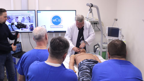 Курс «Особенности ИВЛ у пациентов с вирусной пневмонии» в МСЦ Боткинской больницы.