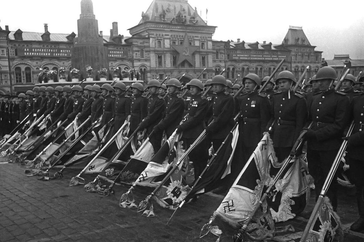 Парад Победы в Москве, июнь 1945 года.