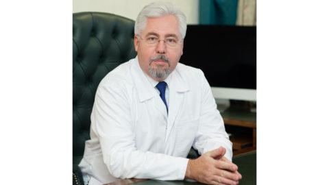 Главный врач ГКБ им. С.П.Боткина А.В.Шабунин.