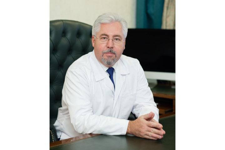Главный врач ГБУЗ ГКБ им. С.П. Боткина ДЗМ А.В.Шабунин.