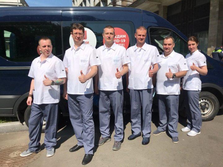 Команда врачей Боткинской больницы ДЗМ отправляется в Псков.