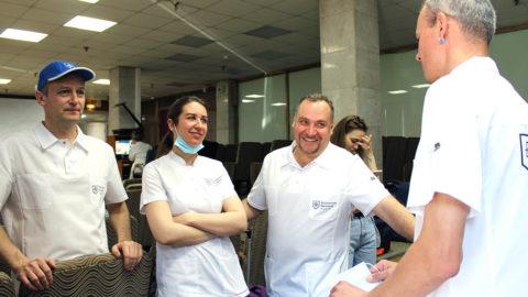 Команда Боткинской отправляется в Псков помогать в борьбе с COVID-19