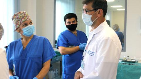 Оценочные процедуры соискателей на вакансии в лечебных учреждениях ДЗМ. Боткинская больницы, Медицинский симуляционный центр.
