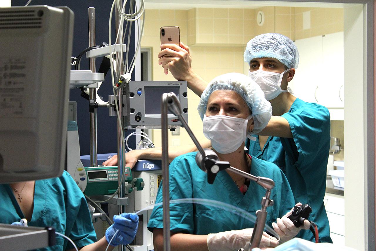 Коржева И.Ю., заведующая отделением эндоскопии Боткинской больницы ДЗМ.