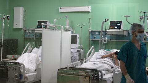 Блок интенсивной терапии в отделении трансплантации Боткинской больницы ДЗМ.