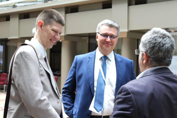 Д.Н.Греков и В.Н.Якомаскин, Боткинская больница ДЗМ. Конференция по раку легкого. 29 мая 2021 года.