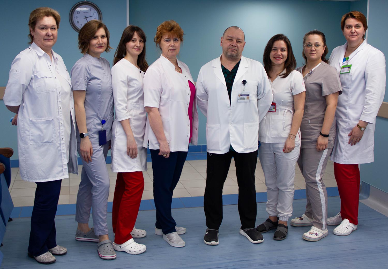 Диагностическое отделение № 1 МГОЦ