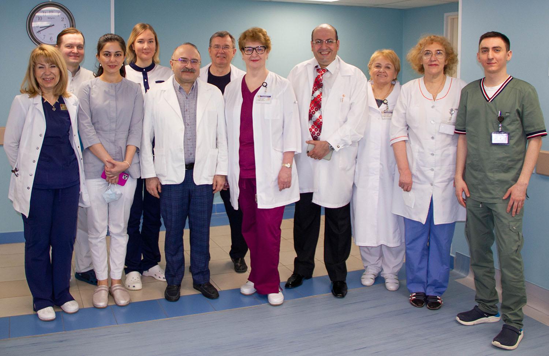 Офтальмологическое отделение №64 МГОЦ