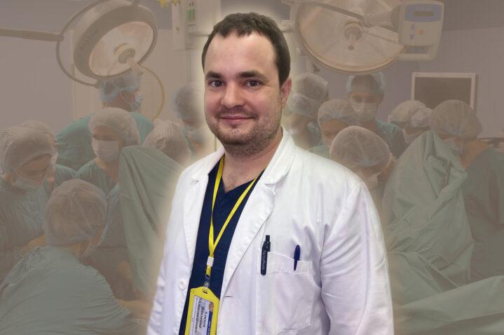 В.А.Алимов, заведующий отделением онкогинекологии Боткинской больницы ДЗМ.
